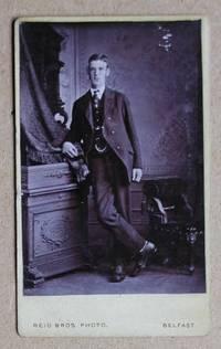 Carte De Visite Photograph: Portrait of a Young Man Wearing a Suit.