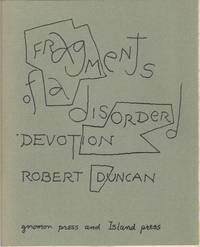 Fragments of a Disordered Devotion
