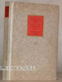 London: First Edition Club, 1922. cloth-backed boards, paper cover and spine labels. 8vo. cloth-back...
