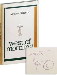 West of Morning [Inscribed]