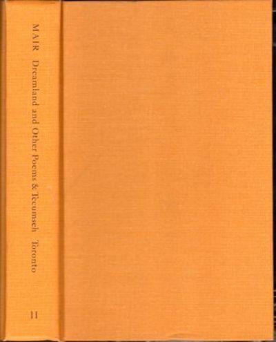 Toronto: University of Toronto Press, 1974. Hardcover. Very Good. Very good hardback bound in publis...