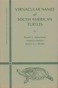 Vernacular Names of South American Turtles