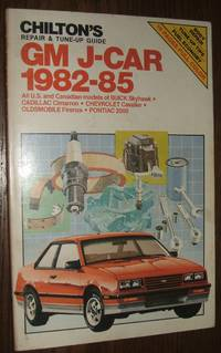 image of Chilton's Repair and Tune-Up Guide: Gm J-Car, 1982-85