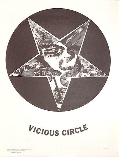 Richmond, CA: Berkeley Graphic Arts, 1968. 17.5x23 inch poster, very good, depicting a pentagram com...