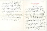 "[Original Autograph Letter, Signed (""Father""), to His Daughter, Jean Clemens]"