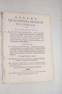 Quaestiones medicae duodecim…