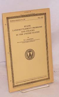 image of State land-settlement problems and policies in the United States