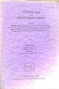 Sale 28-30 June 1976: Miscellaneous Books, including: Emblem Books - Old &  Rare Books 16th-18th Centuries / Old Prints, Maps & Drawings - 19th  Century Illustrated Books - Fine & Applied Arts, etc.