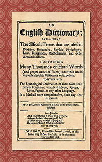 An English Dictionary: Explaining the Difficult Terms..