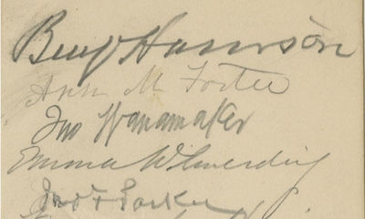 24/02/1893. This is the first time we have had something definitively signed by a president and his ...