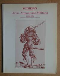 Sotheby's. Arms, Armour and Militaria. Wednesday 28th October 1987.