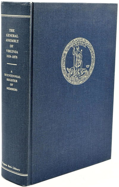 Richmond: Library of Virginia, 1978. Hard Cover. Near Fine binding. A very nice clean copy with no m...