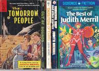 """""""JUDITH MERRIL"""" BOOKS: The Tomorrow People / Out of Bounds / Daughters of Earth /..."""
