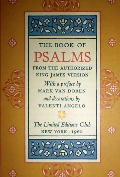 the book of psalms from the authorized king james version