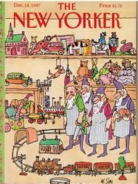 image of NEW YORKER:  WORKSHOP ELVES by WILLIAM STEIG
