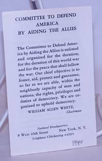 image of Committee to Defend America by Aiding the Allies