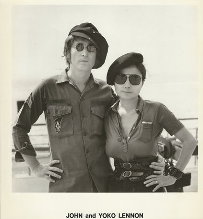 JOHN and YOKO LENNON (ca. 1972) Set...