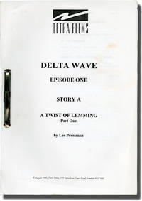 image of Four scripts from the television show Delta Wave (Four original screenplay for the 1995 television show)