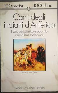 CANTI DEGLI INDIANI D'AMERICA