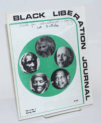 Black liberation journal Vol. 4, no. 1, Spring 1981