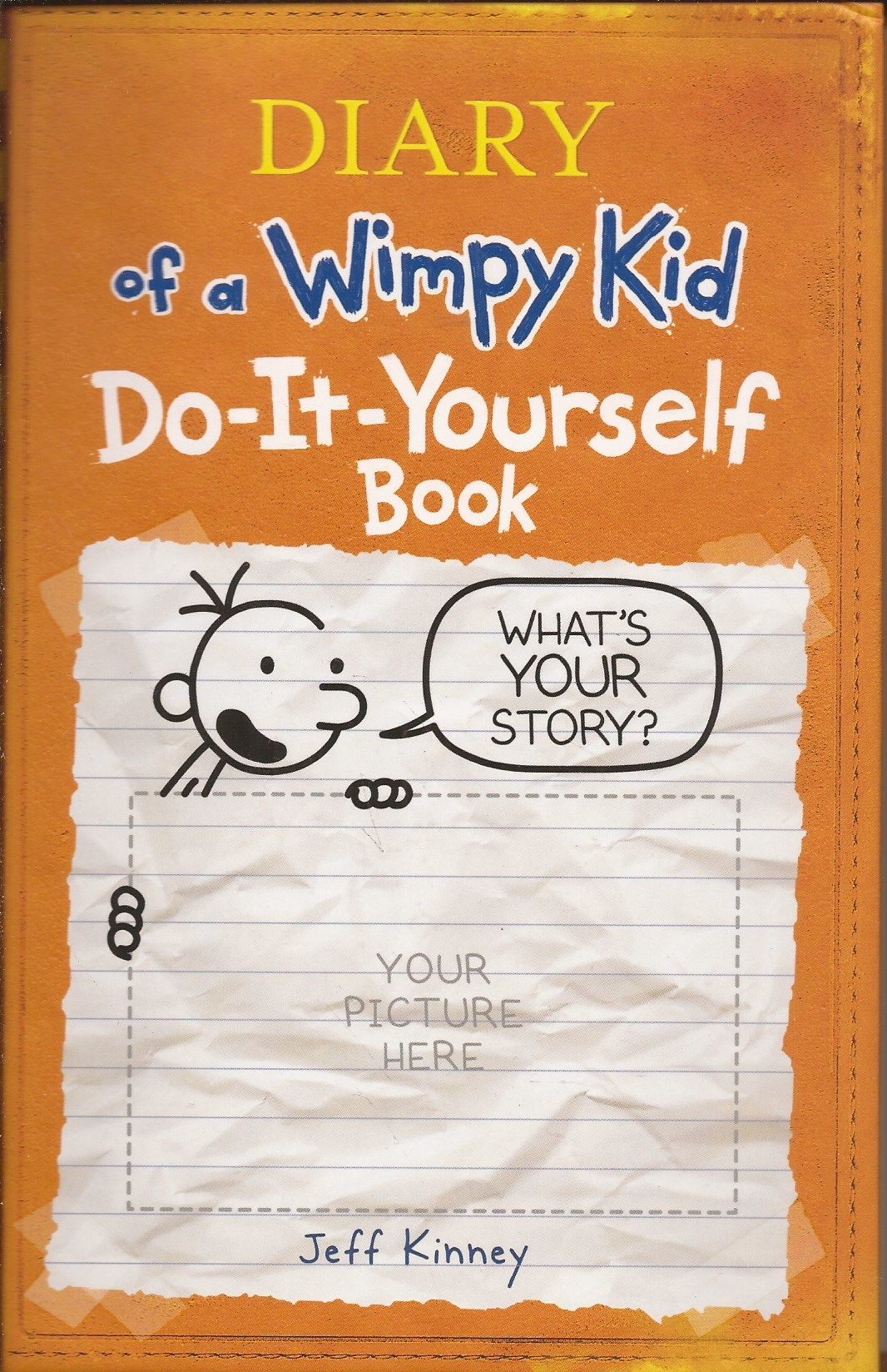 9780810979772 Diary Of A Wimpy Kid Do It Yourself Book By Jeff Kinney