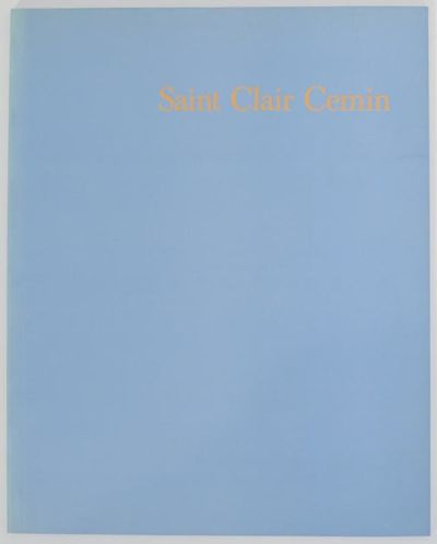 Madrid, Spain: Galeria Soledad Lorenzo, 1992. First edition. Softcover. 28 pages. Exhibition catalog...