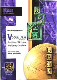 VOCABULARIO EN LENGUA CASTELLANA / MEXICANA - MEXICANA / CASTELLANA