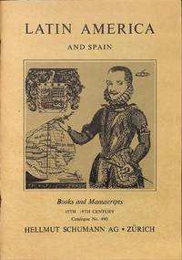 Catalogue 490/n.d.: Latin America and Spain.