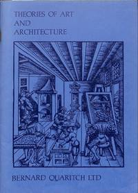 Catalogue 1040/1984: Theories of Art and Architecture.