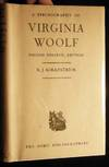 View Image 1 of 7 for A Bibliography of Virginia Woolf Inventory #17996