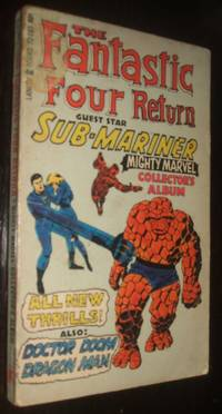 image of The Fantastic Four Return Guest Star Sub-Mariner Mighty Marvel Collector Album