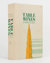 Table Wines. The Technology of their Production by  M.A. and M.A. JOSLYN AMERINE - Hardcover - 2nd Edition - 1970 - from Michael Treloar Antiquarian Booksellers (SKU: 122741)