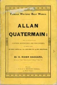 ALLAN QUATERMAIN ..