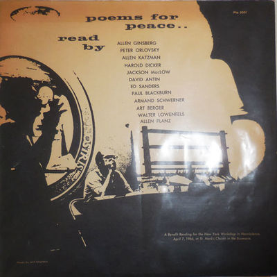 New York: New York Workshop in Nonviolence, 1966. First edition. Record LP. Very Good. 33 1/3 LP rec...