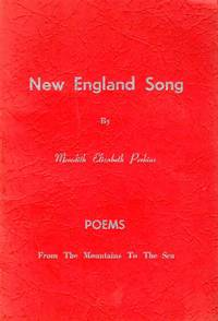 New England Song Poems from the Mountains to the Sea