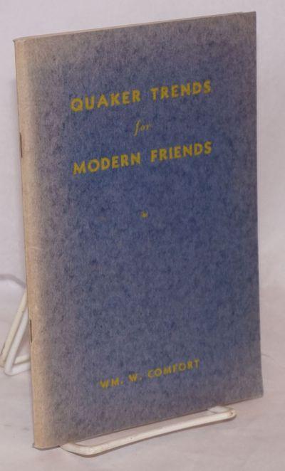 Philadelphia: Book Committee Religious Society of Friends, Philadelphia and Vicinity, 1943. 104p., 5...
