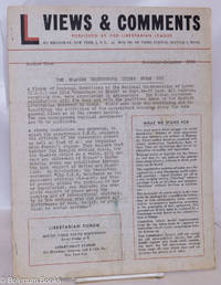 image of Views & Comments. No. 9, November-December 1955