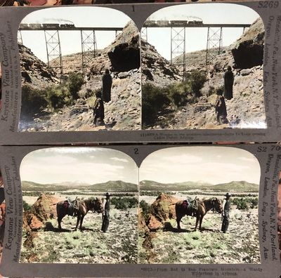 Keystone View Company. Very Good. A boxed set of Grand Canyon stereoviews published by the Keystone ...