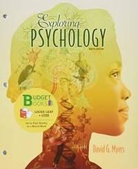 image of Exploring Psychology (Loose Leaf) & Study Guide