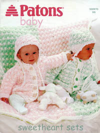 image of PATONS : BABY SWEATHEART SETS (Patons Book #500970 DD
