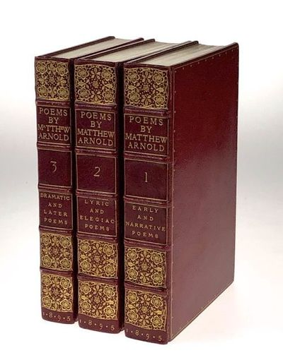 London: Macmillan and Co, 1895. First Thus. First Thus. Three uniform volumes of similar size, simil...