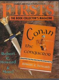 """Firsts:  The Book Collector's Magazine  July/August 2000, Volume 10, # 7/8 -  Remembering Charles Beaumont; Collecting Robert E. Howard; The Best Barbarian;  A """"Sophisticated"""" Copy"""