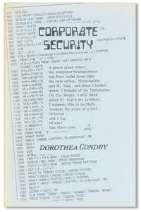 Corporate Security [Samisdat, Vol. 31, no. 1]