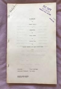 NO ONE MAN (109pp original File Copy screenplay for the 1932 Pre-Code film)