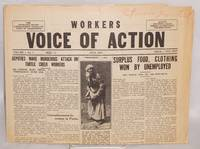 Workers voice of action, vol. 1, no. 4, July, 1934