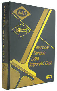 National Service Data Imported Car Tune-Up Manual, 1971 Annual (Mitchell Manuals) by Mitchell Manuals - Hardcover - 1972 - from The Bookworm and Biblio.co.uk