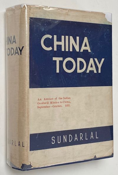Allahabad: Hindustani Culture Society, 1952. 701p., very good hardcover in a chipped dustjacket,
