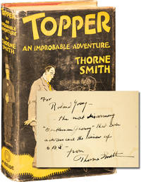 Topper: An Improbable Adventure (Roland Young's copy, inscribed)