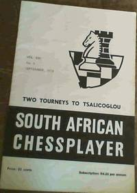 The South African Chessplayer Vol XXI September 1973 No 9