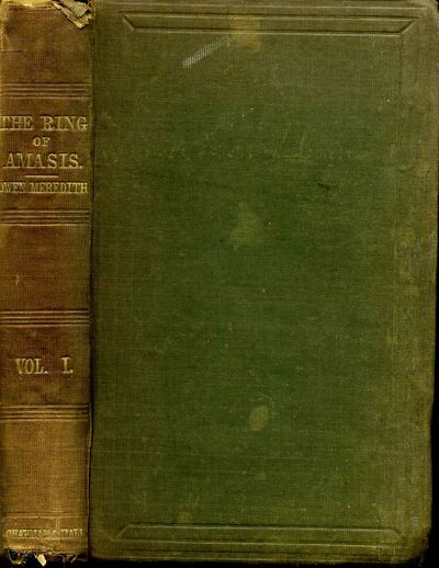 London: Chapman and Hall, 1863. Book. Very good- condition. Hardcover. First Edition. 12mo - over 6�...
